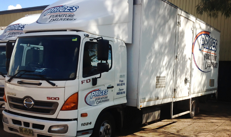prices furniture deliveries