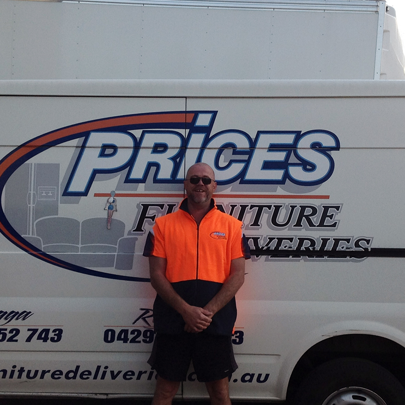 Anthony Goss - Prices Furniture Deliveries